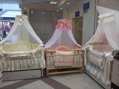 Кроватки детские деревянные