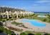 Вид из окна апартаментов на резиденцию и море